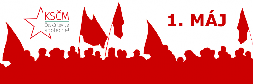 1. máj, ksčm, volby, evropský parlament, praha